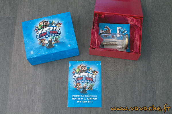 goodies boule neige skylanders. Black Bedroom Furniture Sets. Home Design Ideas