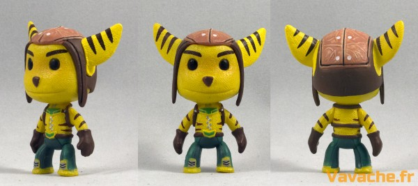Figurine Sackboy Ratchet