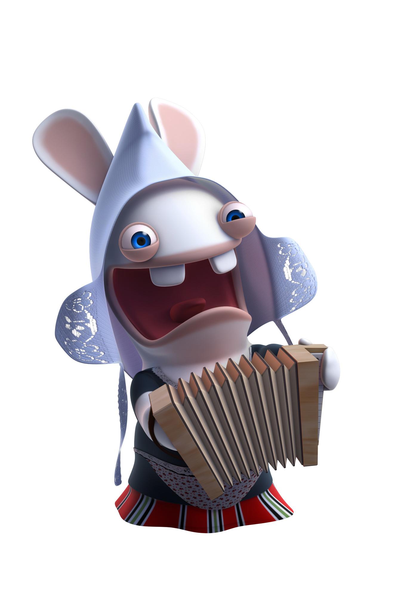 News agenda les lapins cr tins envahissent la bwaaahtagne - Lapin cretin image ...