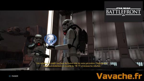 Platine Star Wars battlefront
