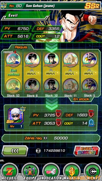 Guide Dokkan Battle Eveil Dokkan