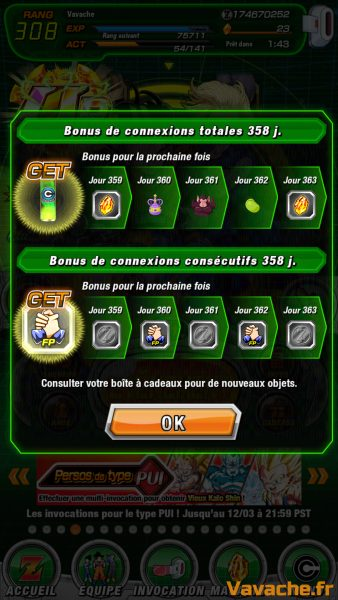 Guide Dokkan Battle Bonus Connexion