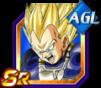 Dokkan Battle SR Vegeta SSJ AGI