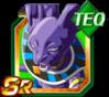Dokkan Battle SR Beerus TEC