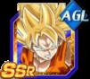 Dokkan Battle SSR Goku SSJ AGI