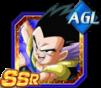Dokkan Battle SSR Gotenks AGI