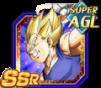 Dokkan Battle SSR Vegeta ange AGI