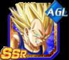 Dokkan Battle SSR Vegeta SSJ2 AGI
