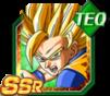 Dokkan Battle SSR Goku SSJ2 TEC