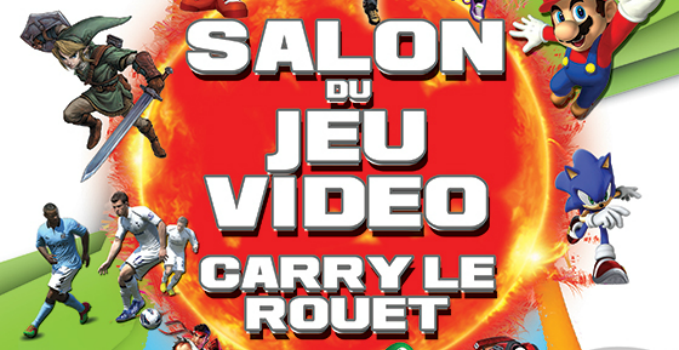 Agenda salon du jeu vid o carry le rouet 13 for Salon jeu video paris