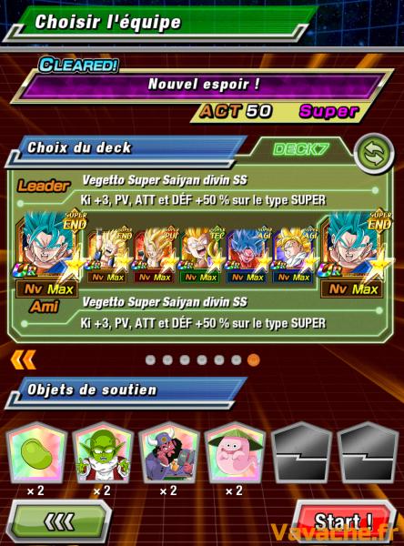 Dokkan Battle suggestion équipe Dokkan Trunks Futur SSJ