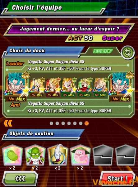 Dokkan Battle suggestion équipe Dokkan Zamasu Fusion