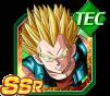 Dokkan Battle SSR Vegeta SSJ GT TEC