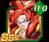 Dokkan Battle SSR Gogeta SSJ4 TEC