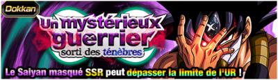 Dragon Ball Z Dokkan Battle Mystérieux guerrier