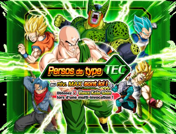 Portail d'invocation Rare personnages de type TEC