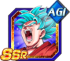 Dokkan Battle SSR Goku SSGSS AGI