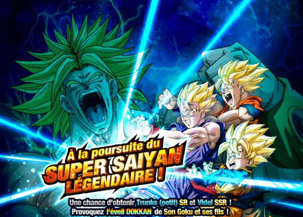 Dokkan Battle A la poursuite du Super Saiyan Légendaire