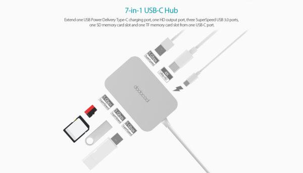 Hub USB-C DC30 Dodocool